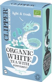 Bild på Clipper Organic White Tea Peppermint 26 st