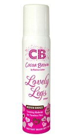 Bild på Cocoa Brown Lovely Legs Spray Medium Bronze 75 ml