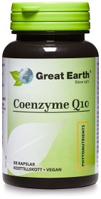 Bild på Great Earth Coenzyme Q10 120 mg 50 kapslar