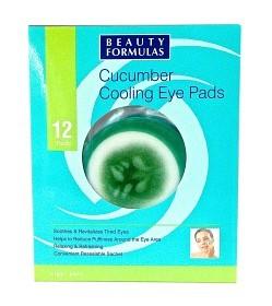 Bild på Cucumber Cooling Eye Pads 12 st