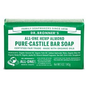 Bild på Dr Bronner Almond Bar Soap