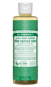 Bild på Dr Bronner Almond Liquid Soap 236 ml