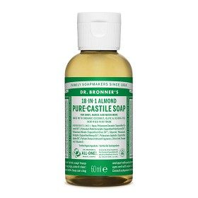Bild på Dr Bronner Almond Liquid Soap 60 ml