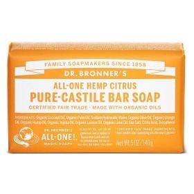 Bild på Dr Bronner Citrus Orange Bar Soap