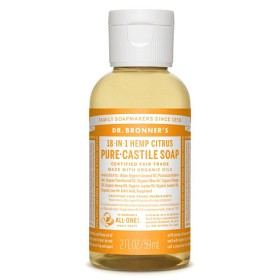 Bild på Dr Bronner Citrus Orange Liquid Soap 59 ml