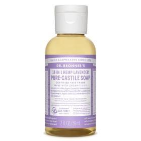 Bild på Dr Bronner Lavender Liquid Soap 59 ml