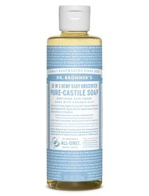 Bild på Dr Bronner Mild Unscented Liquid Soap 236 ml