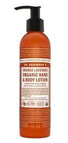 Bild på Dr Bronner Orange & Lavender Hand & Body Lotion 240 ml