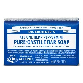 Bild på Dr Bronner Peppermint Bar Soap