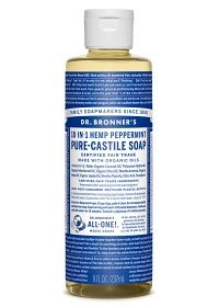 Bild på Dr Bronner Peppermint Liquid Soap 240 ml