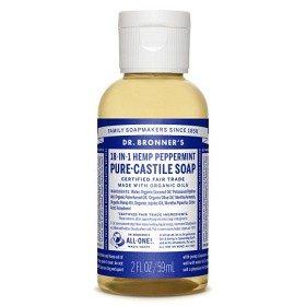 Bild på Dr Bronner Peppermint Liquid Soap 59 ml