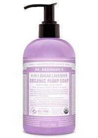 Bild på Dr Bronner Shikakai Hand & Body Soap Lavender 355 ml