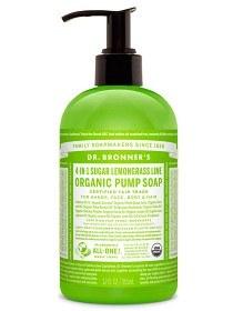 Bild på Dr Bronner Shikakai Hand & Body Soap Lemongrass Lime 355 ml