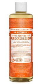 Bild på Dr Bronner Tea Tree Liquid Soap 473 ml