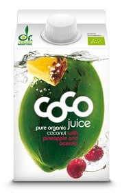 Bild på Dr Martins Coco Juice Pineapple & Acerola 500 ml