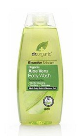 Bild på Dr Organic Aloe Vera Body Wash 250 ml