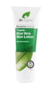 Bild på Dr Organic Aloe Vera Skin Lotion 200 ml