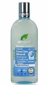Bild på Dr Organic Dead Sea Mineral 2-in-1 Schampo & Conditioner 265 ml