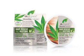 Bild på Dr Organic Hemp Oil Conditioning Hair Mask 200 ml