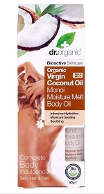 Bild på Dr Organic Virgin Coconut Moisture Melt Body Oil 100 ml