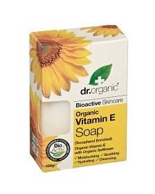 Bild på Dr Organic Vitamin E Soap 100 g