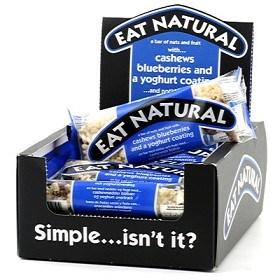 Bild på Eat Natural Cashew & Blueberry 12 st