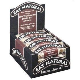 Bild på Eat Natural Darker Chocolate Brazils & Apricots 12 st