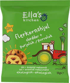 Bild på Ella's Flerkornshjul Cheddar 15g