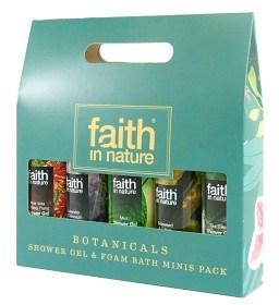 Bild på Faith In Nature Botanicals Minis 5 x 100 ml