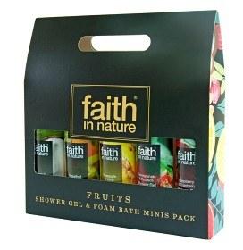 Bild på Faith In Nature Fruits Minis 5 x 100 ml