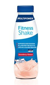 Bild på Fitness Shake Strawberry 330 ml