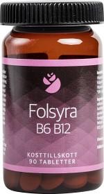 Bild på Folsyra B6 B12, 90 tabletter