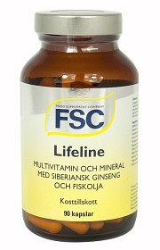 Bild på FSC Lifeline 90 kapslar
