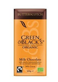 Bild på Green & Blacks Butterscotch Milk Chocolate 100 g
