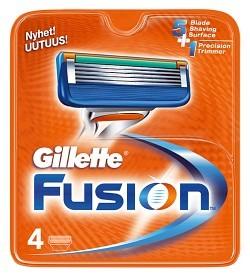 Bild på Gillette Fusion rakblad 4 st