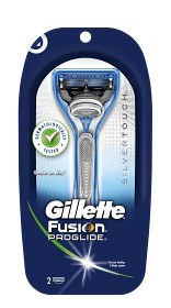 Bild på Gillette Fusion ProGlide Silvertouch rakhyvel