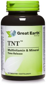 Bild på Great Earth TNT Multivitamin Mineral 150 tabletter