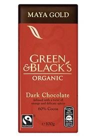Bild på Green & Blacks Maya Gold Dark Chocolate 100 g