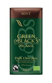 Bild på Green & Blacks Dark Chocolate Mint 100 g