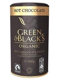 Bild på Green & Blacks Hot Chocolate Drink 300 g