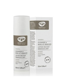 Bild på Green People No Scent Cleanser & Make-Up Remover 50 ml