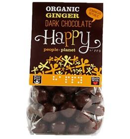 Bild på Happy People Planet Chokladöverdragen Ingefära EKO 150g