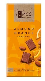Bild på iChoc Almond Orange 80 g