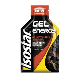 Bild på Isostar Energy Gel Caffein Strawberry Banana 35 g