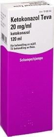 Bild på Ketokonazol Teva, schampo 20 mg/ml 120 ml
