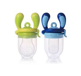 Bild på Kidsme Food Feeder Lime/Aquamarine 2 pack