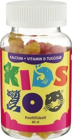 Bild på KidsZoo Kalcium+ Vitamin D 60 tuggtabletter kaniner