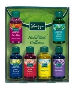 Bild på Kneipp Herbal Bath Collection 6 x 20 ml