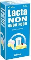 Bild på Lactanon 4500 FCCU, 30 tabletter