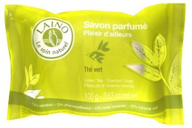 Bild på Laino Green Tea Scented Soap Pleasure of Faraway Islands 100 g